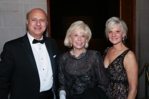 Mrs. Lesley Stahl and Dr. and Mrs. Mazen Kamen