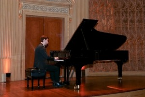 Mr. Vladimir Rumyantsev, pianist at Mannes School of Music